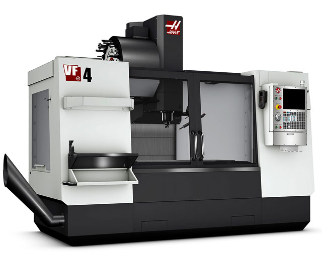 Haas VF4 CNC Machine - AK Machining